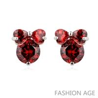 2014 New design Swiss Zircon Stud Earrings exaggerated Austrian Crystal women's top Quality Stud earrings (FE-124)
