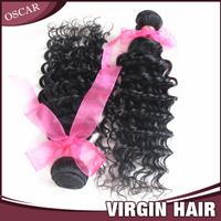 "malaysian deep wave virgin hair 1pc cheap human hair weave curly queen weave beauty natural hair extensions 12""-24"" 60g/pc #1b"