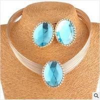 YXSP722     2014 new fashion     Large stones     necklace for women
