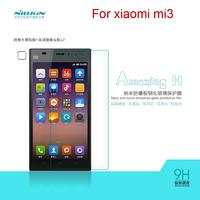 NILLKIN Amazing Nanometer H Anti-Explosion Tempered Glass Screen Protector For xiaomi mi3 free shipping