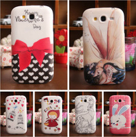 6-Style Selection Accessory Rubber TPU Silicone Protector Back Cover Case For Samsung Galaxy Grand Neo I9060/I9062 Wholesale