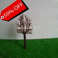 500pcs Model tree  Plastic   Model Tree Arm  high is 50mm Green Model Railway Trees 5cm height Scale Guaranteed 100%