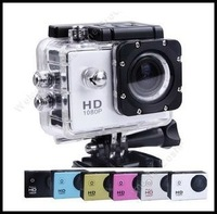 "Waterproof Extreme Action HD DV SJ4000 Helmet Sports Camera 1080P H.264 1.5"" LCD 4X Digital Zoom 170 Degree Lens Video Camera"