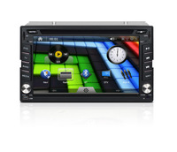 "for sale!6.2""HD TFT LCD 2 din Car DVD player;car dvd gps navigator;universal car pc;Opt.:3G/WIFI adapter"