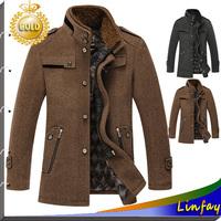 New TOP Quality Men Jackets Roupas Masculinas Wool Brand Men's Jacket Casual Coat Men Clothes Jackets Outdoor Coat Men Overcoat