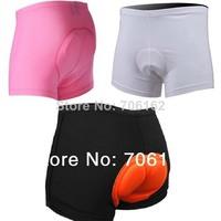 New  women & man 3 colors Cycling Underwear Gel 3D Padded Bike/Bicycle Shorts M-3XL