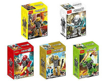 5 mini figures doll the hero factory 6.0 Assembly building blocks toys for kids