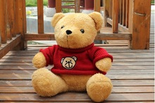 30 cm sweater bear plush toy teddy bear doll gift w4407(China (Mainland))