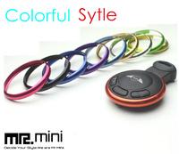 Mini Car Aluminum Alloy Chrome  Key rings Mini cooper countryman key trim key chain, Newest color arrived 8 colors can be mixed