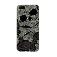 Free shipping!Fashion Lovely Gift unique New Skull Head design Hard Plastic Case for apple iPhone 5g 5