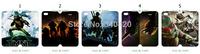 2014 Hot Newest arrival 5pcs/lots wholesaleTeenage Mutant Ninja TurtlesPU leather card foldable case  for iphone 4 4G 4S