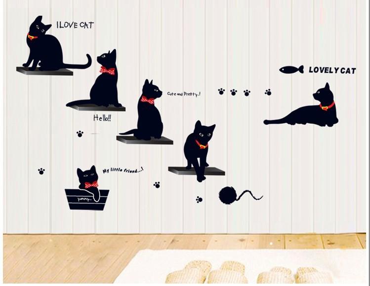 Online kopen wholesale familie stickers kat uit china familie stickers kat groothandel - Nieuwe ontwerpmuur ...