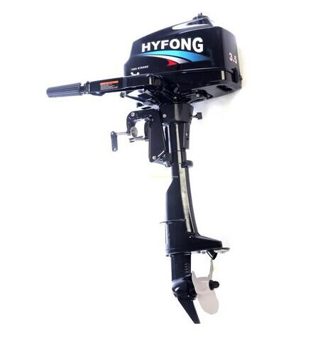 Inflável 2-Stroke água de refrigeração Motor barco de pesca a Motor de popa 3.5 hp(China (Mainland))