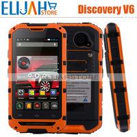 2015 Hot!Original Discovery V6 MTK6572 Dual Core Phone Android 4.2 Dual SIM Card Dual Cameras Dustproof Shockproof WaterProof
