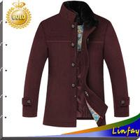 2014 New Arrival Men Jacket Fur Collar Brand Supreme Jacket Winter Coats Men Clothing Winter Jackets Outdoor Coat Mens Overcoat