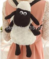 1pc Movie Kawaii Cute 45cm Shaun The Sheep Backpack Plush School Bags Doll For Children Girl Boy Birthday Gift mochila infantil