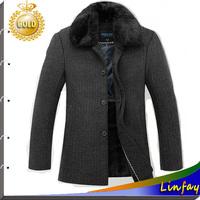 2014 TOP Quality Men Jackets Fur Collar Brand College Jacket Winter Coats Men Clothing Winter Outdoor Jacket Mens Overcoat