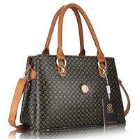 Hot Selling Women PU Leather Handbag Tote Shoulder Bags Large Capacity  Messenger Bags Fashion Design purse Free Shipping