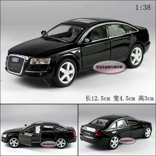 free shipping Kinsmart 1:38 A6 alloy model cars / toys car(China (Mainland))