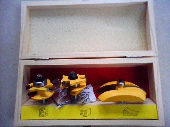 Keukendeur Kopen : Pro-Grade 3pcs/set Tungsten Carbide 1/2-Inch Router Bits Set Wooden