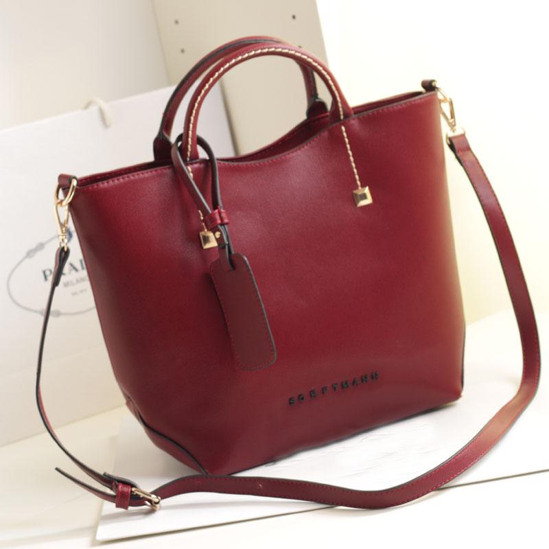 livraison gratuite 2014 vin rouge seau de mode sac bandoulière sac à main en cuir sacs à bandoulière homme