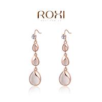 ROXI Brand 8.19 Big Sales Item Elegant Jewelry  earrings zircon Crystalwaterdrop  Earrings Accessories Rose Gold Plated Jewelry