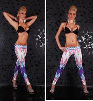 2014 Print Low Terry Cotton Punk New Arrival Fashion Wave Printed Legging Women's Seamless Leggings Lady Sexy Pant KD-036