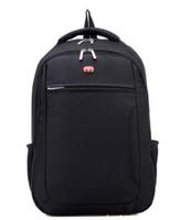 Nylon Swisslander Laptop backpack Waterproof Large Space, 15.6 Inch, Brand travel bags, luggage Men Women backpacks