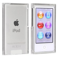 Clear Crystal Transparent Hard Snap-On Skin Case Cover for New Apple iPod Nano 7th Generation 7G 7