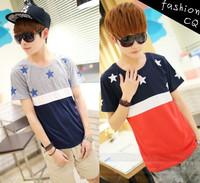 2012 short t les pullover short-sleeve T-shirt male