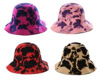 Wholesale 6pcs 2014 NEW Women Winter Wool Bucket Hat Fashion Womens Felt Cloche Caps Lady Spring Trilby Cap Dome Fedoras Hats