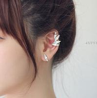 New Arrival Super Gorgeous Fairy Three-piece Droplets Ear Bones Clip Women's Stud Earrings R-134