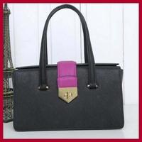 genuine leather high quality women leather handbags brand design 2711 women totes European design women bags