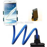Lazy Bracket Phone Holder Stand Flexible 360 Rotating Double Clips Car Holder Desktop Bed For iPhone3/4/5 Samsung Lenovo