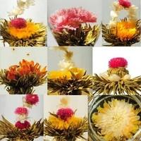 20 kinds Blooming Flower Tea100%Natural Handmade,herbal slimming tea Artistic Blossom Flower Tea,health care products green food