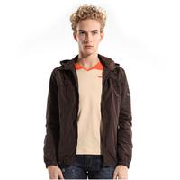 Free Shipping 2014 Spring-Autumn New Fashion Casual Sport Thin Men Windbreaker Hooded outdoors Jacket waterproof jacket