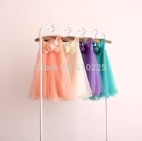 5pcs/lot Fashion Girls Dresses Summer 2014 Kids Clothes American Style Baby Girl Dress Party Birthday Chiffon Dresses