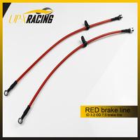 RACING 0.6 M  NYLON core BRAKE LINE HOSE FLUID HYDRAULIC braide brake hose M10