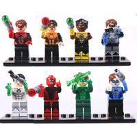 2014 new building blocks kids toys educational toys cartoon doll Green Lantern Series SY186