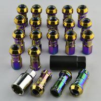 20pcs/set  Brand New Universal  Wheel lug nuts NEO Chorme with M12x1.25 mm For Nissan MT-C02