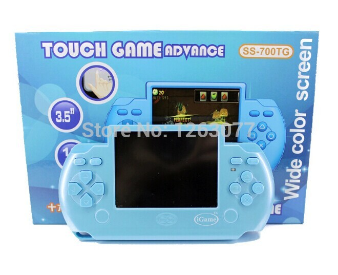 New!!! Built-in Many Games 2.5 Inch 16 Bit Video Game Player TFT LCD PVP3 112 Game Portable Handheld Game Console Free shipping!(China (Mainland))