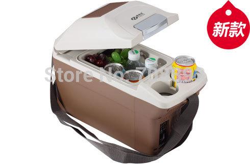 12V 9L mini portable fridge geladeira car Brige refrigerator auto styling cooler box frigobar freezer Temperature -8 &+10(China (Mainland))