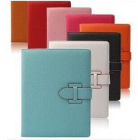 Business PU Leather Stand Case for iPad 4 3 2 Smart Cover for Tablet case 9.7 inch with buckle fashion design Free Shipping