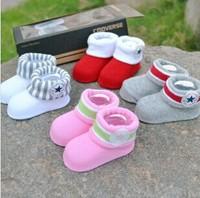 2014 HOT gift box set 6 pairs / lot Brand Three-dimensional baby socks newborn super cute kids socks for newborn baby socks