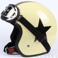 9color Halley EVO half capacete,women's electric bicycle Open face helmets,men's vintage Motorcycle helmet goggles,star helmet
