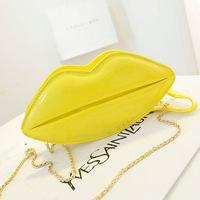 New arrival 2014 Korean fashion bolsas femininas women handbags women Clutch sexy lips jelly bag evening bag banquet