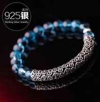 Free Shipping Original crystal bracelet female fashion kyanite bracelet 925 silver clouds  Hi Quality Fast Delivery