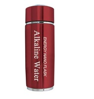 Free Ship 304stainless steel Alkaline water bottle/flask 4 colors+ dual energy filter replacement+ thermos funtion