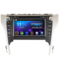 Pure android 4.2.2 Car DVD GPS for Toyota Camry 2012 with Capacitive screen 1.6G CPU DualCore 1G RAM Radio Tape Recorder Stereo