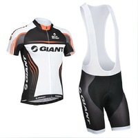 Giant 2014 Bike Clothing  Cycling Jersey Short Sleeve and bicicleta bike bib Shorts/ ciclismo maillot